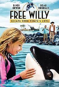 Beau Bridges, Bindi Irwin, and Siyabulela Ramba in Free Willy: Escape from Pirate's Cove (2010)