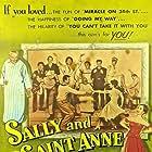 Ann Blyth, Frances Bavier, Edmund Gwenn, Kathleen Hughes, Jack Kelly, John McIntire, Hugh O'Brian, and Gregg Palmer in Sally and Saint Anne (1952)