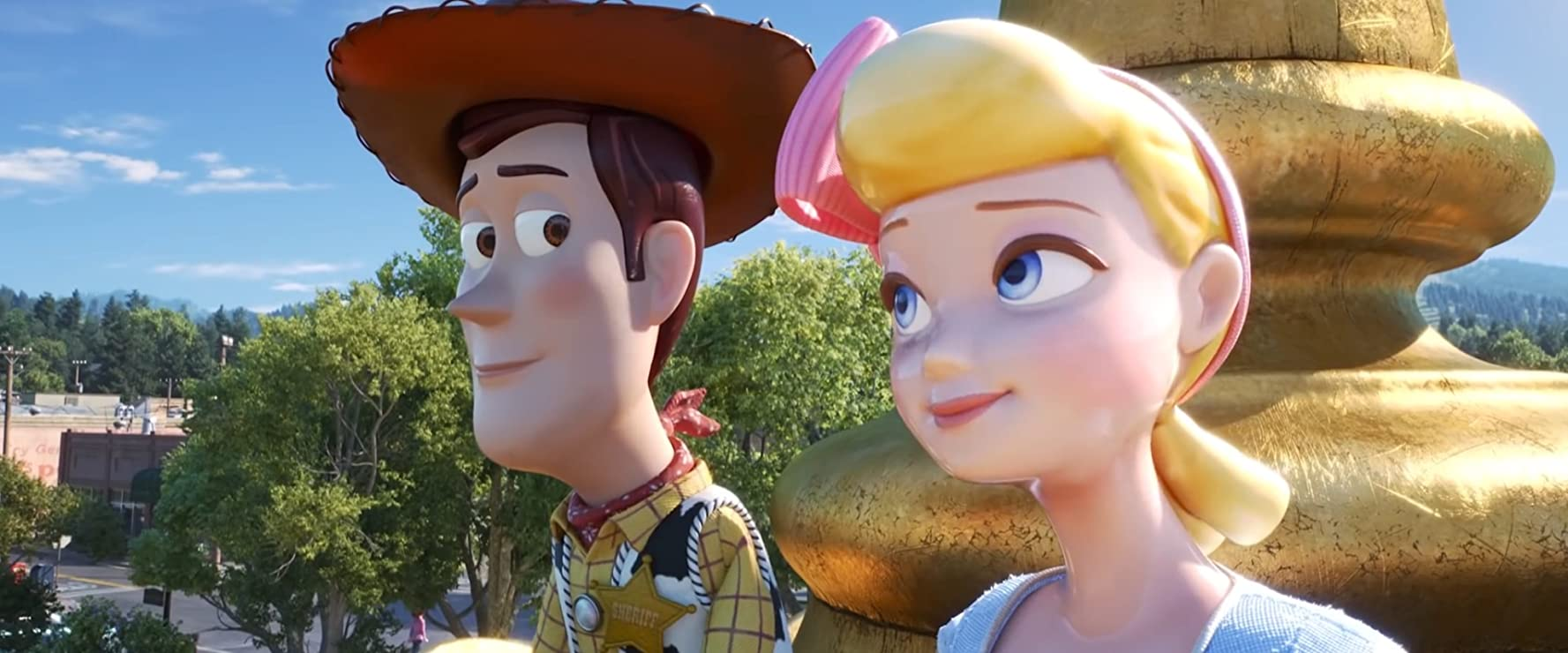 Tom Hanks and Annie Potts in Toy Story 4 (2019)