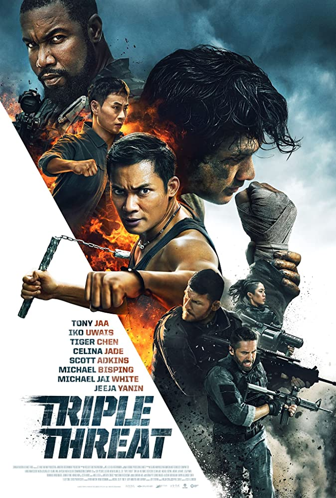 Triple Threat (2019) Bluray