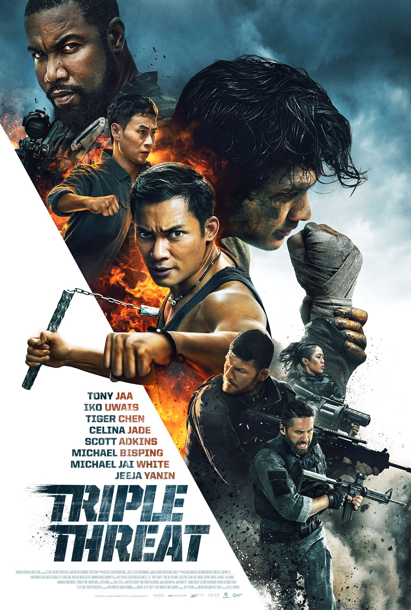 Üçlü Tehdit – Triple Threat izle