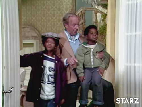 Todd Bridges, Conrad Bain, and Gary Coleman in Diff'rent Strokes (1978)