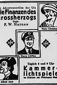 Alfred Abel, Mady Christians, and Harry Liedtke in Die Finanzen des Großherzogs (1924)