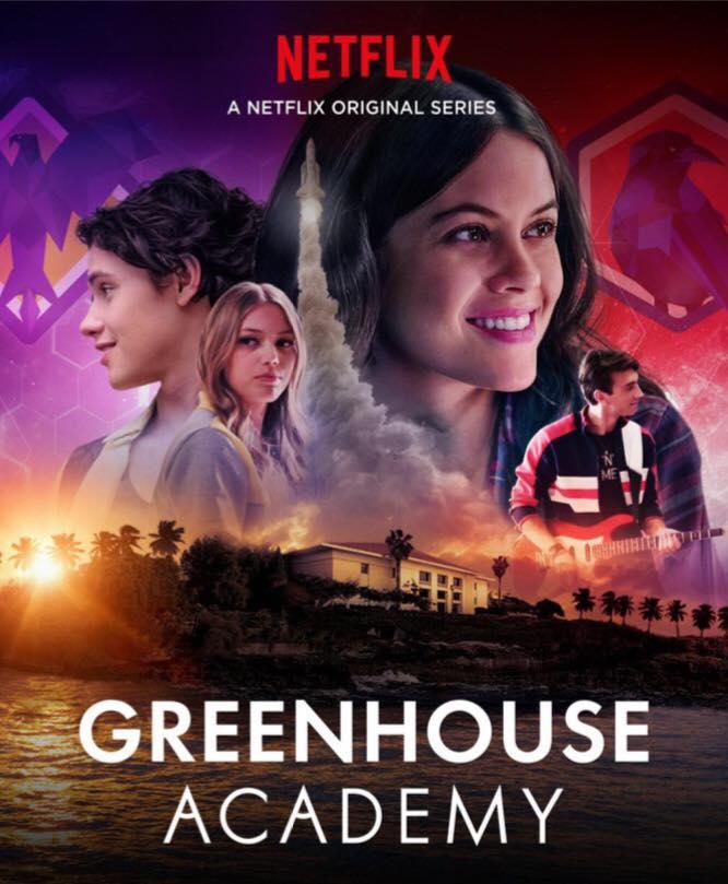 GRYNHAUSO AKADEMIJA (3 sezonas) / GREENHOUSE ACADEMY