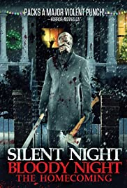 Silent Night, Bloody Night: The Homecoming Poster