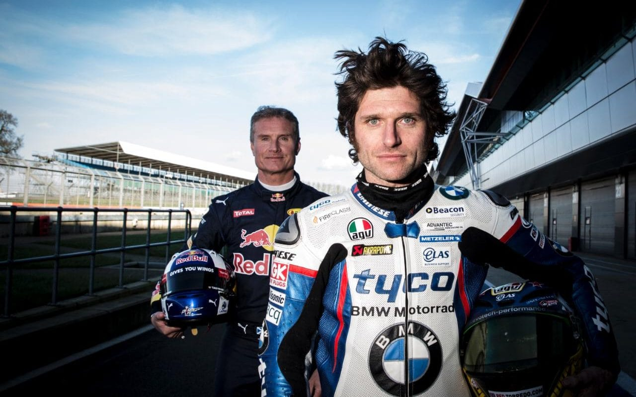 David Coulthard And Guy Martin In Speed With 2013