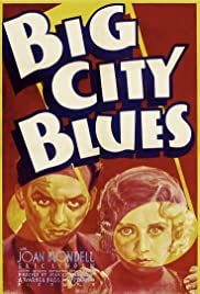 Big City Blues Poster