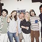 Beverly D'Angelo, John Kapelos, Nicholas Rutherford, Robert Schwartzman, Lauren Lapkus, and Darrell Britt-Gibson in The Unicorn (2018)