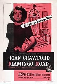 Joan Crawford and Zachary Scott in Flamingo Road (1949)