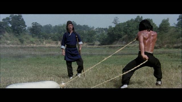Jackie Chan and Hui-Lou Chen at an event for Xiao quan guai zhao (1979)