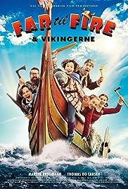 Far til fire & vikingerne Poster