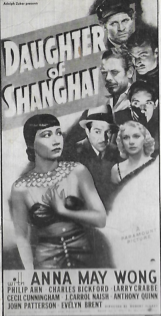 Charles Bickford, Philip Ahn, Evelyn Brent, Buster Crabbe, Fred Kohler, J. Carrol Naish, and Anna May Wong in Daughter of Shanghai (1937)