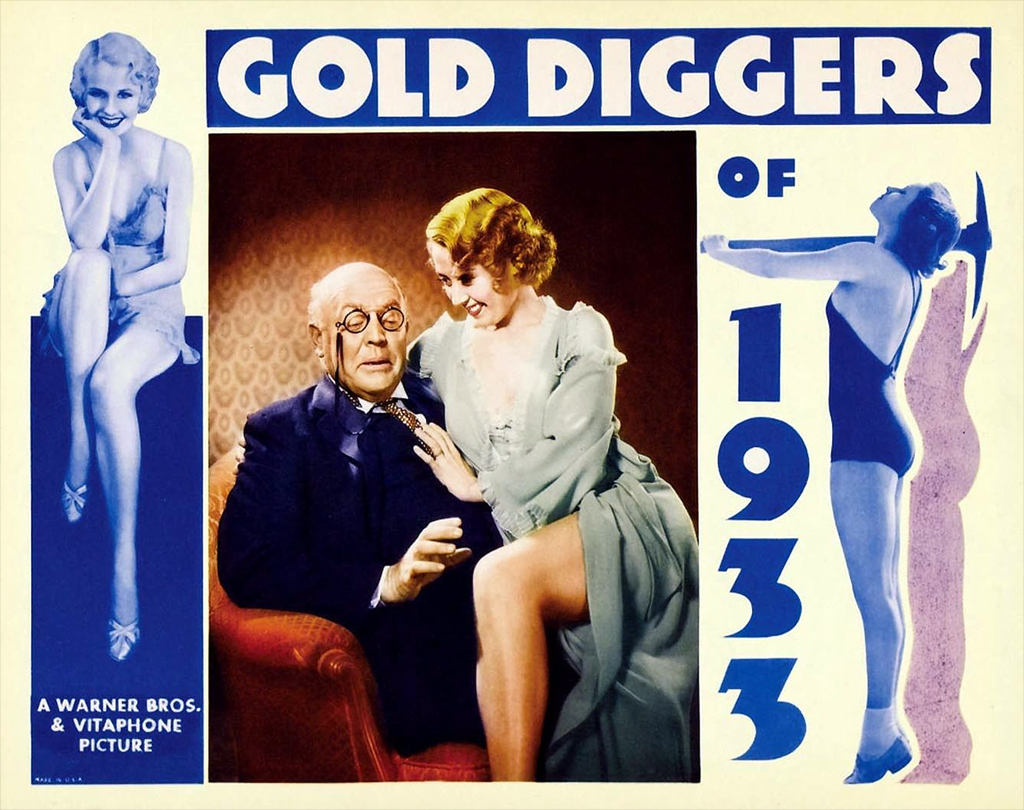 Joan Blondell and Guy Kibbee in Gold Diggers of 1933 (1933)