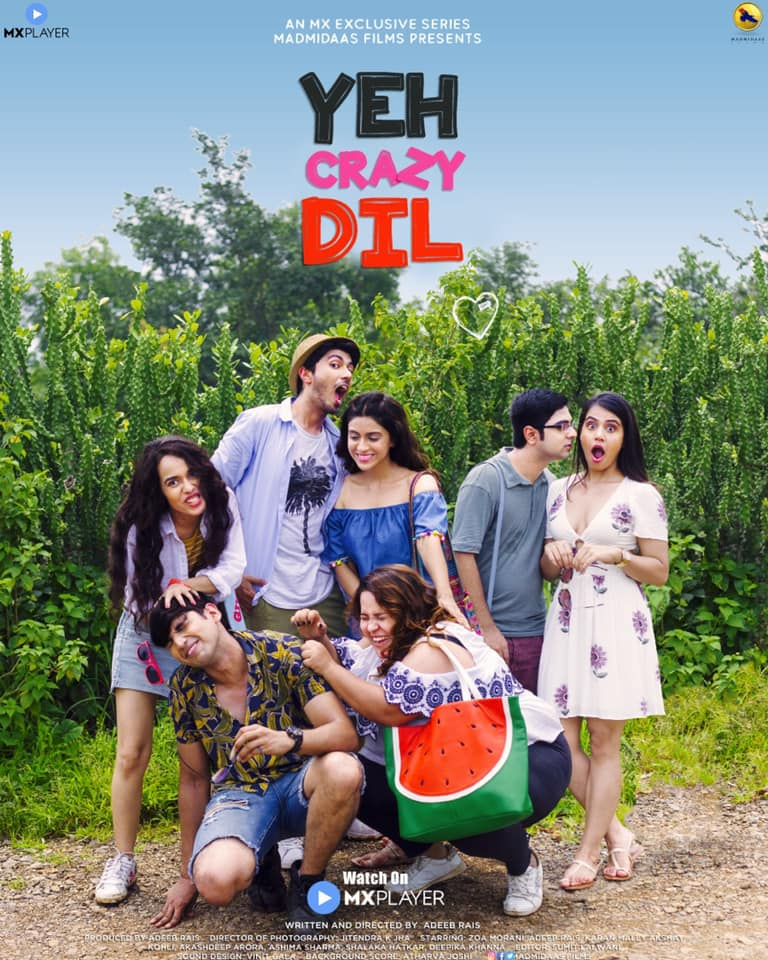 18+ Yeh Crazy Dil 2019 S01 Hindi MX Originals Complete Web Series