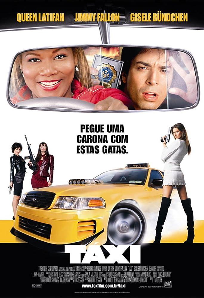 Salah satu adegan di dalam film Taxi