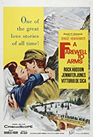 A Farewell to Arms (1957) Poster - Movie Forum, Cast, Reviews
