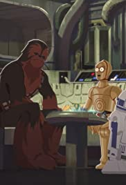 Chewie vs. Holochess - Let the Wookiee Win Poster