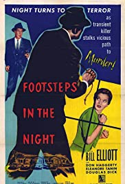 Footsteps in the Night Poster
