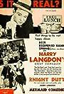 Harry Langdon and Lita Chevret in Knight Duty (1933)