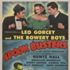 Tanis Chandler, Gabriel Dell, Douglass Dumbrille, Leo Gorcey, and Huntz Hall in Spook Busters (1946)