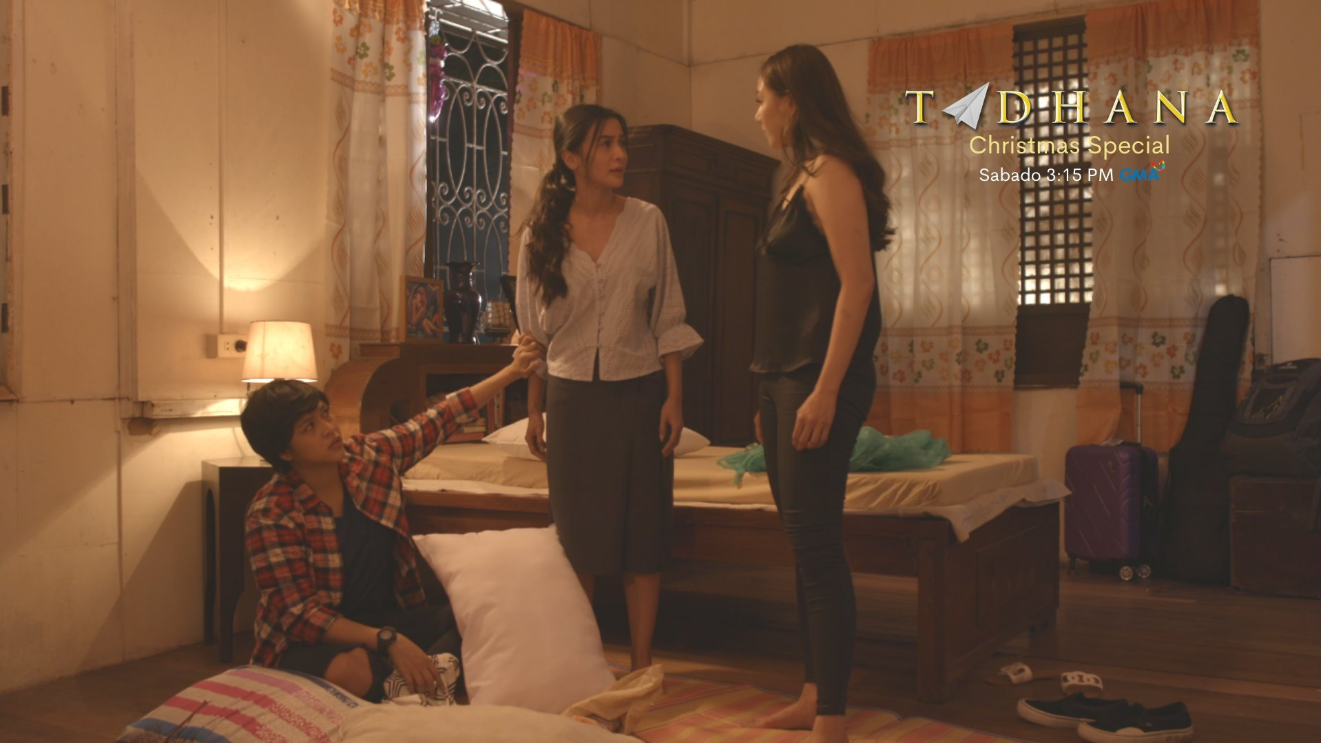 Faye Lorenzo, Kris Bernal, and Diva Montelaba in Magkapatid, magkaagaw: Part 1 (2020)
