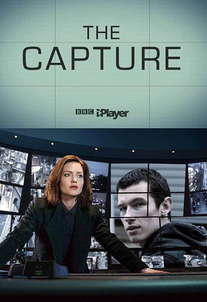 Holliday Grainger and Callum Turner in The Capture (2019)