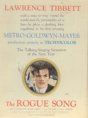 Hal Roach The Rogue Song Movie
