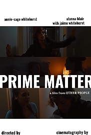 Prime Matter Poster
