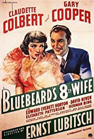 Gary Cooper and Claudette Colbert in Bluebeard's Eighth Wife (1938)