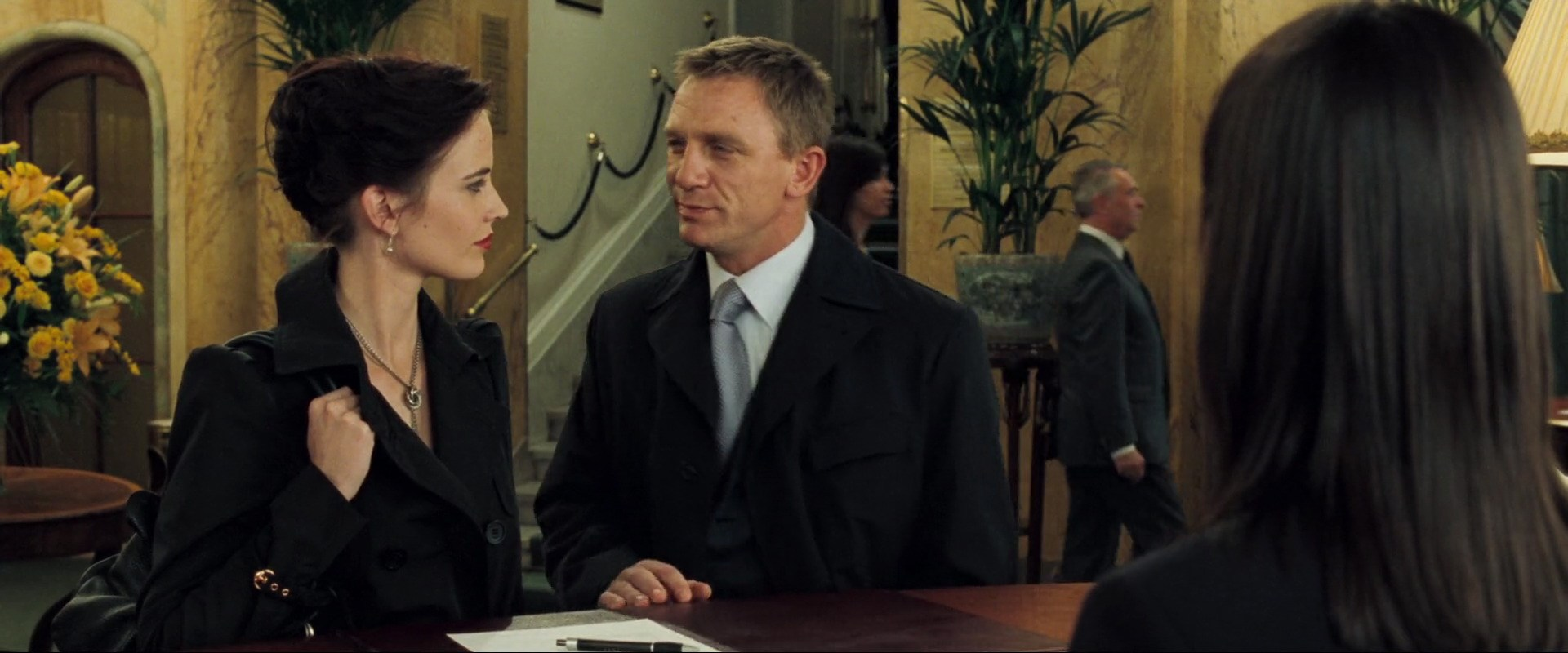 Daniel Craig and Eva Green in Casino Royale (2006)
