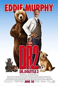 Eddie Murphy, Michael Rapaport, Steve Zahn, Norm MacDonald, Phil Proctor, Richard C. Sarafian, and Crystal the Monkey in Dr. Dolittle 2 (2001)