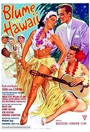 Die Blume von Hawaii Poster