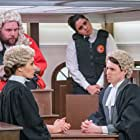 Nancy Zamit, Holly Sumpton, Jonathan Sayer, Henry Shields, Henry Lewis, and Bryony Corrigan in A Trial to Watch (2020)