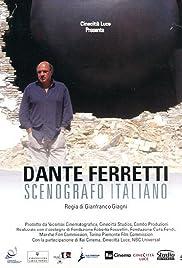 Dante Ferretti: Scenografo italiano Poster