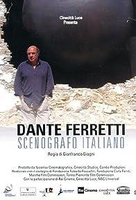Primary photo for Dante Ferretti: Scenografo italiano