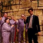 Richard Ayoade in The Crystal Maze (1990)