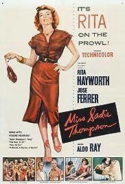 Miss Sadie Thompson Poster