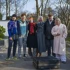 Michael Segerström, Charlie Gustafsson, Madeleine Martin, Åsa Gustafsson, and Anja Paulsson in Änglavakt (2020)