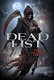 Dead List Poster