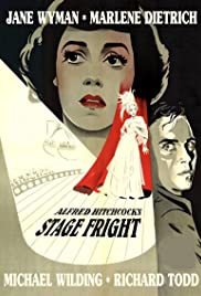Stage Fright (1950) Poster - Movie Forum, Cast, Reviews