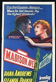 Madison Avenue(1961) Poster - Movie Forum, Cast, Reviews