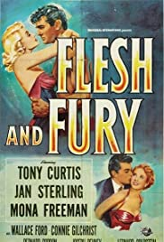 Flesh and Fury Poster