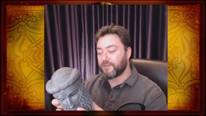 3D Printed Sargon Head 2018
