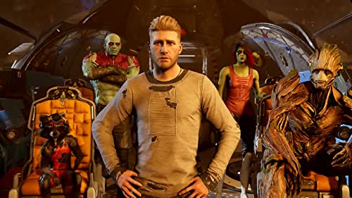 After an epic conflict known as the Galactic War swept through the cosmos. Star-Lord recently formed the Guardians of the Galaxy, they've been together for less than a year.