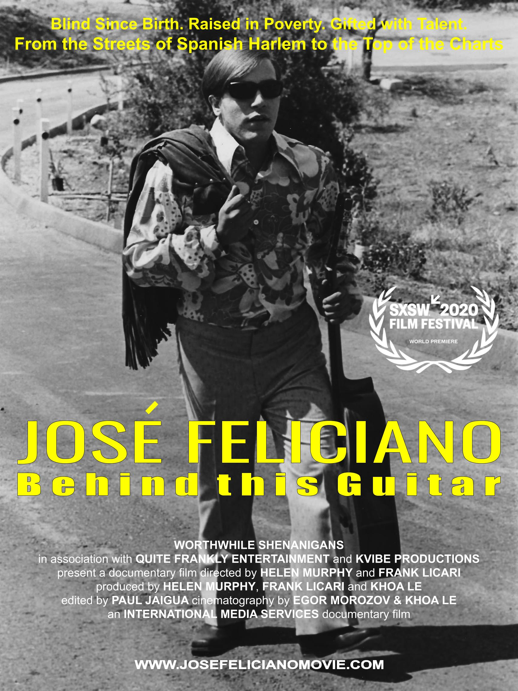 JOSE FELICIANO - Behind This Guitar (2020) - IMDb