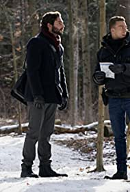 Theodore Bhat and Matt Murray in Hanging by a Thread (2021)