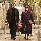 Sahar Dolatshahi and Pedram Sharifi in I want to be alive (2021)