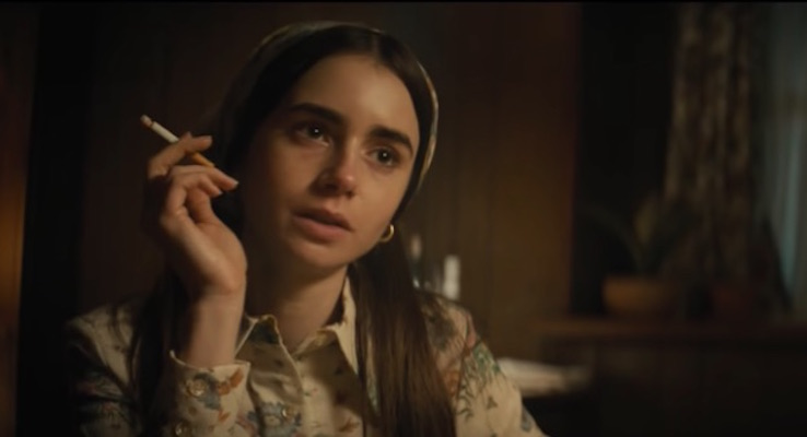 Lily Collins in Extremely Wicked, Shockingly Evil and Vile (2019)