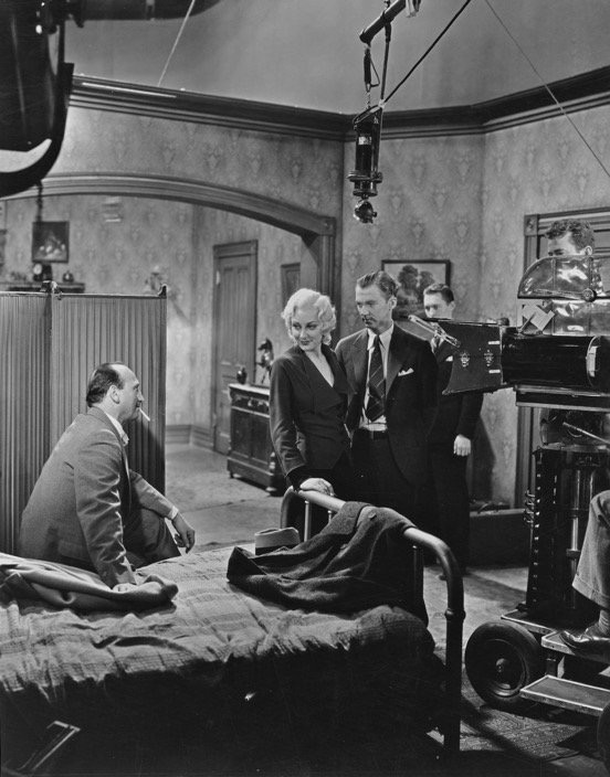 Michael Curtiz, Ann Dvorak, and Lee Tracy in The Strange Love of Molly Louvain (1932)