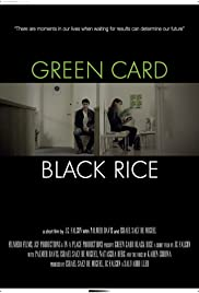 Green Card, Black Rice Poster